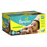 Pampers Swaddlers Diapers Size 3 Economy Pack Plus 162 Count